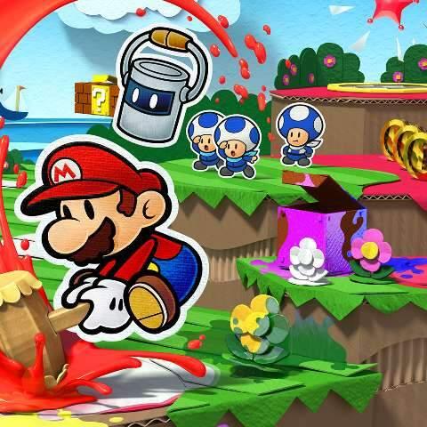 """""""Paper Mario – Color Splash"""" completa 5 anos; conheça mais sobre o jogo"""