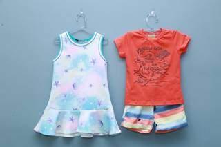 Independente da idade, loja garante look estiloso para os pequenos. (Foto: Kísie Ainoã)