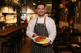 Chef decidiu trazer novidade da osteria para Campo Grande. (Foto: Kísie Ainoã)