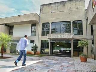 Governadoria, no Parque dos Poderes, em Campo Grande. (Foto: Arquivo/Campo Grande News)