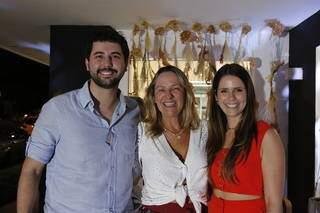 Proprietários Victor Schneider, Laura Amorim e Marina Amorim (Foto: Divulgação)