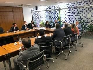 Promotores foram à Câmara para tentar abrir discussão. (Foto: Divulgação/Conamp)