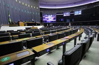 Plenário da Câmara dos Deputados durante sessão remota. (Foto: Cleia Viana/Câmara dos Deputados)