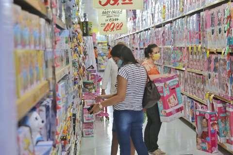 Contra prejuízo no Dia das Crianças, lojistas vão abrir durante o feriadão