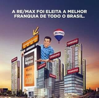 RE/MAX é eleita a melhor franquia do Brasil pela revista Pequenas Empresas & Grandes Negócios (Foto: Divulgação)