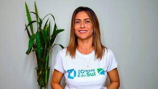 Soraya vestiu a camisa de Mato Grosso do Sul desde o 1º dia de mandato. (Foto: Divulgação)