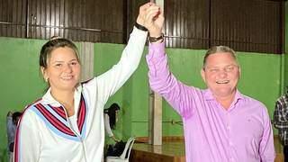 Empresária Gideane foi escolhida como vice-prefeita para compor chapa com Gustavo, atual interino. (Foto: Divulgação)