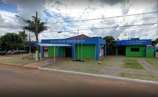 Sede da Prefeitura de Bandeirantes. (Foto: Divulgação)