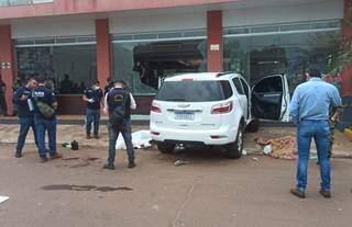 Quatro pessoas foram mortas em atentado e duas ficaram feridas (Foto: Rádio Império)