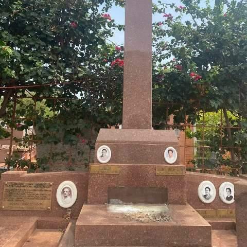 De bronze, estátua de Jesus Cristo medindo 2 metros é furtada de cemitério