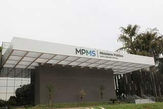 Sede do MPMS, em Campo Grande. (Foto: Ana Carolina Vasques)