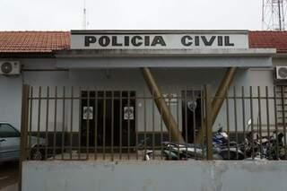 Furto foi registrado na Delegacia de Polícia Civil de Rio Brilhante (Foto: Olimar Gamara/ Rio Brilhante em Tempo Real)