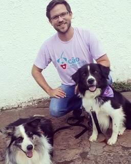 Diogo pesquisa sobre comportamento animal e dá dicas para que você fuja da punição e se familiarize com a educação dos cães. (Foto: Reprodução Instagram)