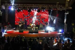 Apresentação de show antigo em Campo Grande. (Foto: Arquivo/Fundação de Cultura de MS)