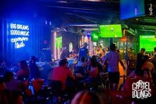 Cartel Lounge fica na Rua Dr. Eduardo Machado Metelo, 64 – Chácara Cachoeira. (Foto: Divulgação)
