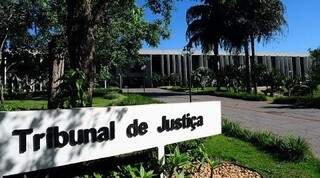 Fachada do Tribunal de Justiça de MS em Campo Grande (Foto: Arquivo)