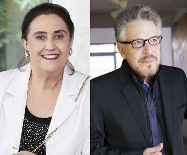 Humberto Espíndola e Ana Maria Bernardelli viram imortais da Academia de Letras