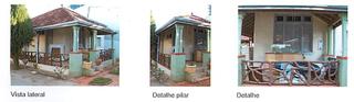 Detalhes de imóvel que foi demolido na Rua Barão do Rio Branco. (Foto: Reprodução)