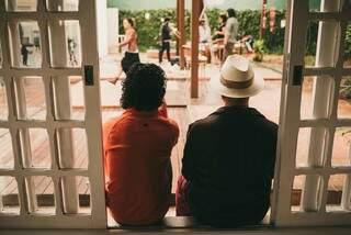 Bastidores de Produção. (Foto: Renaclo Filho/Fuá Produções Culturais)