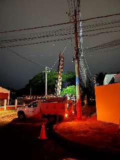 Temporal provocou 5,3 mil chamados e deixou 34 bairros sem luz na Capital