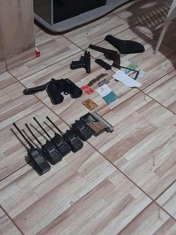 Investigação sobre ataque a vereador leva a apreensão de armas e munições