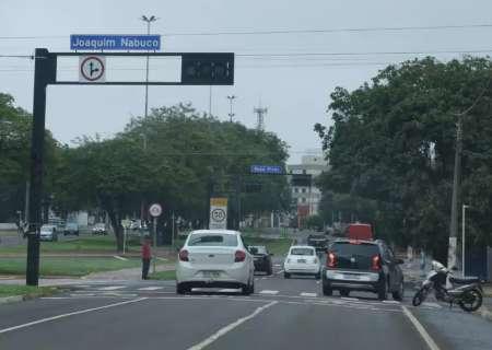 Vendaval deixou 138 semáforos desligados em Campo Grande