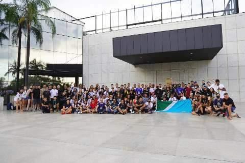 Atletas de MS retornam de Brasília com 19 medalhas nos Jogos Universitários