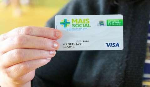 Governo de MS entrega 1,6 mil cartões do Mais Social nesta 2ª