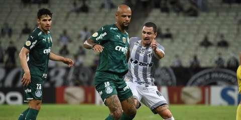Com gols de Zé Rafael e Deyverson, Palmeiras faz 2 a 1 no Ceará