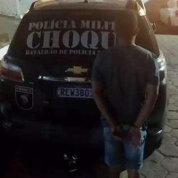 Acusado de matar por dívida de R$ 100 na Capital é preso pelo Choque em Ladário