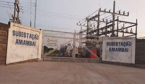 Bandidos invadem subestação de energia e levam R$ 20 mil em equipamentos