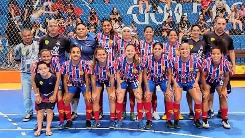 Serc larga na frente do rival Operário pela Copa do Brasil de Futsal feminino