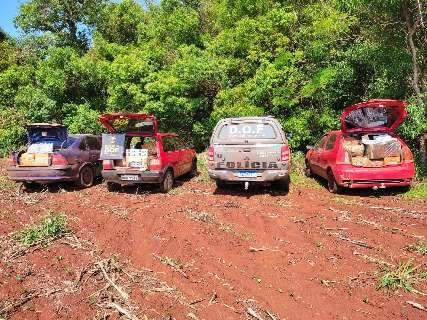 Suspeito é preso com R$ 300 mil em pneus e joias contrabandeados do Paraguai