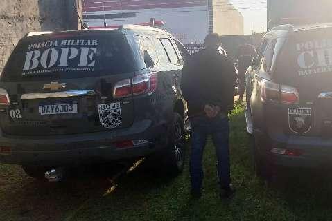 Polícia persegue traficante e encontra 5,5 toneladas de maconha em entreposto