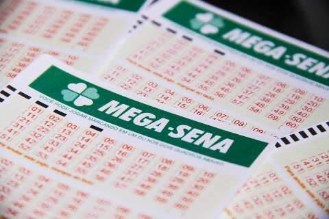 Apostas para Mega-Sena acumulada podem ser feitas até 17h de MS