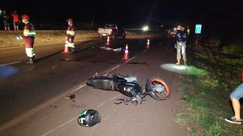 Homem morre atropelado por motociclista na BR-163