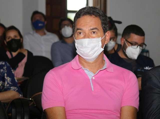 Em 6 dias, campo-grandense descobrirá se estará livre da máscara, diz Marquinhos