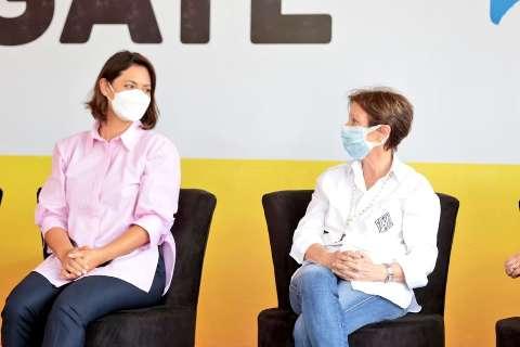 Michelle Bolsonaro revela apelido de Tereza Cristina
