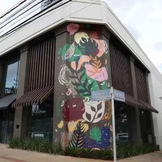 Fachadas pela cidade são tomadas por arte em forma de murais
