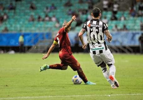 Bahia e Ceará empatam em 1 a 1 na Arena Fonte Nova