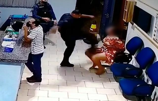 """""""Mãe, estou com medo da polícia"""", diz filho de mulher agredida por tenente em MS"""