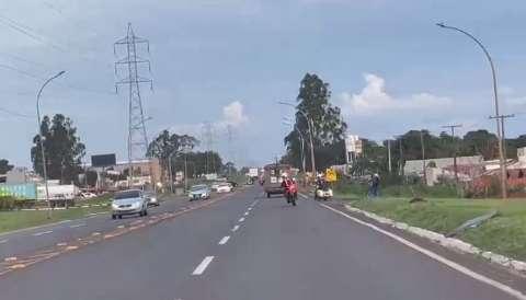 Deslocamento de tropa do Exército coloca em risco a segurança do trânsito