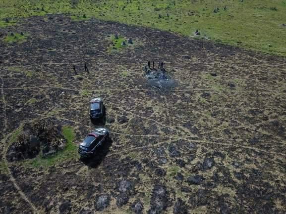 Queda de helicóptero foi forjada e polícia apura resgate de ocupantes pelo ar